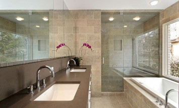 Covenant Construction Group - Bright Tile Bathroom