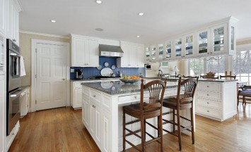 Covenant Construction Group - Open Kitchen Island