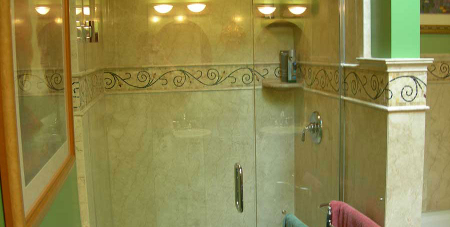 Covenant Construction Group - Bathroom Remodel, After, Shower Enclosure - Ann Arbor, MI