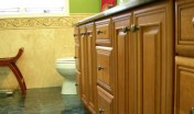 Covenant Construction Group - Bathroom Remodel, After, Custom Cabinets - Ann Arbor, MI