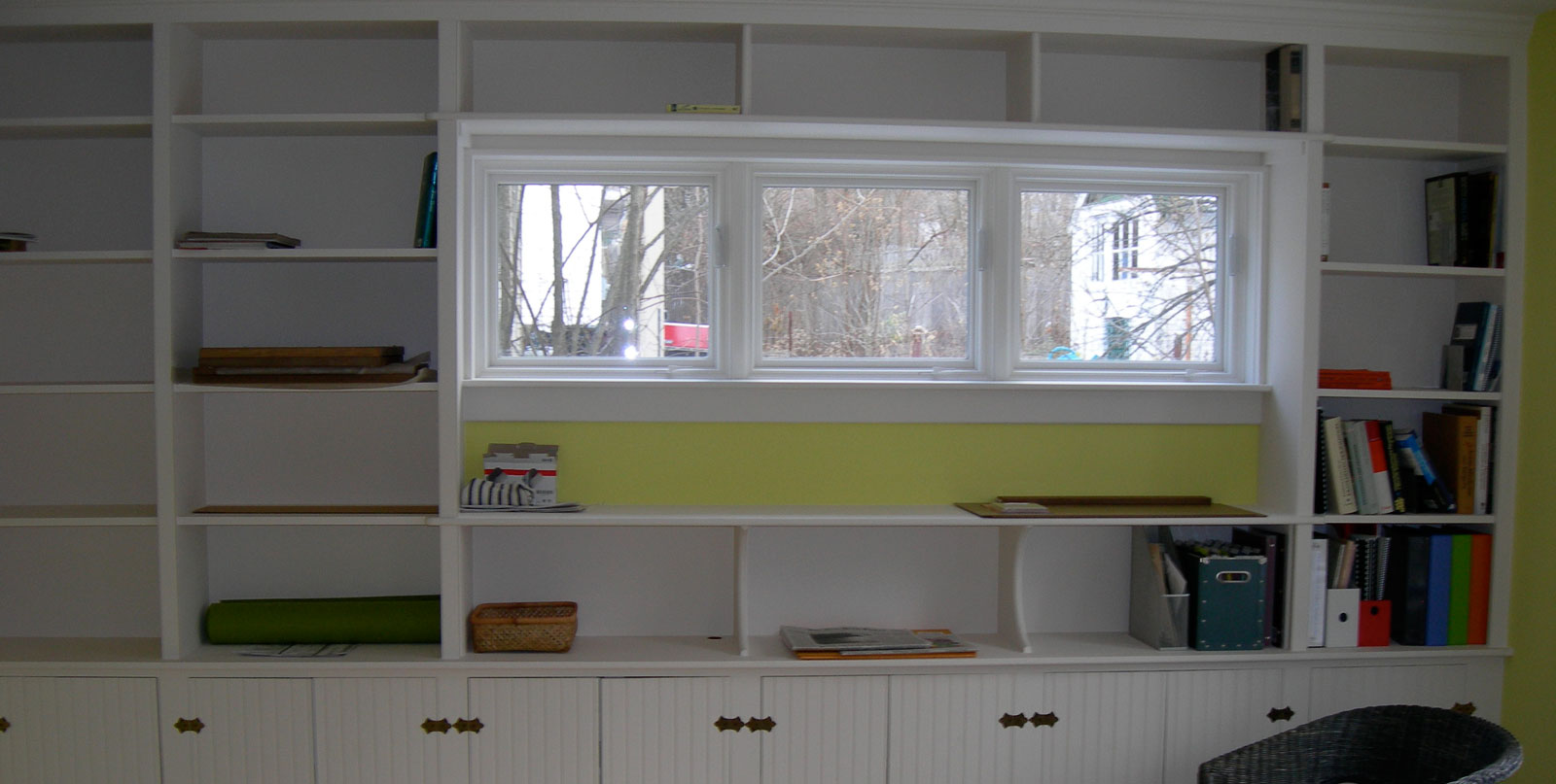Covenant Construction Group - Home Addition, Interior, Custom Shelving and Picture Windows- Ann Arbor, MI