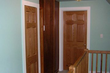 Covenant Construction Group - Interior Remodel, Wood Banisters and Doors - Ann Arbor, MI