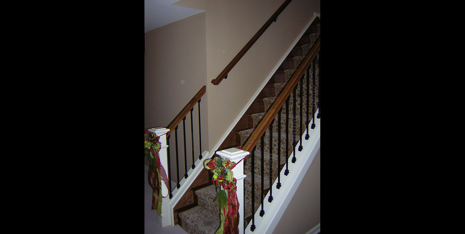Covenant Construction Group - Complete Home Remodel, After, Stairway Downstairs - Ann Arbor, MI