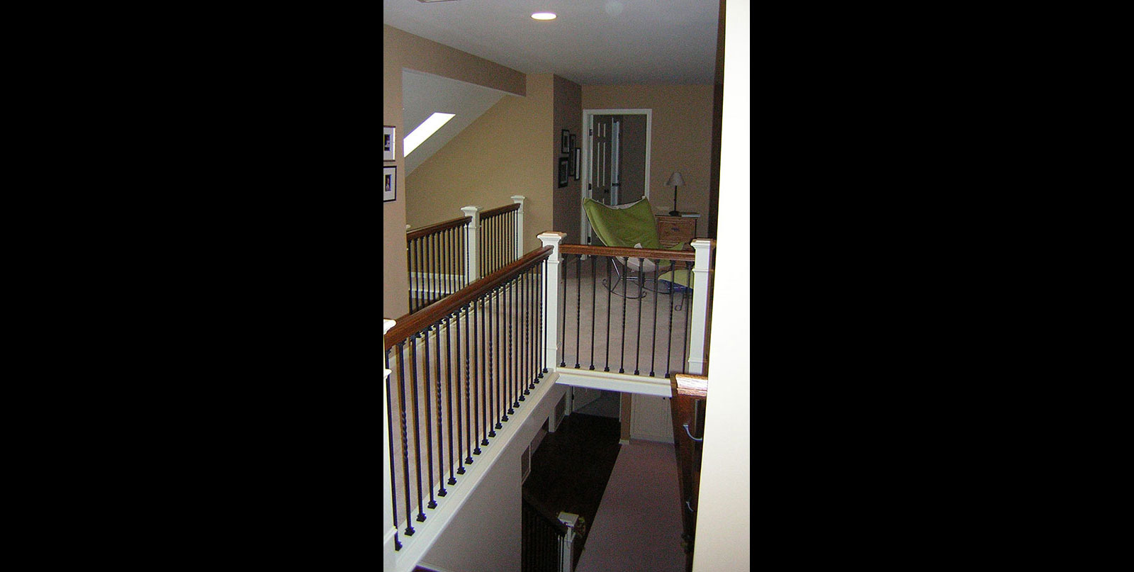 Covenant Construction Group - Complete Home Remodel, After, Stairway Upstairs - Ann Arbor, MI