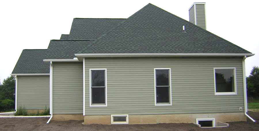 Covenant Construction Group - New Home Construction Side View - Saline, MI