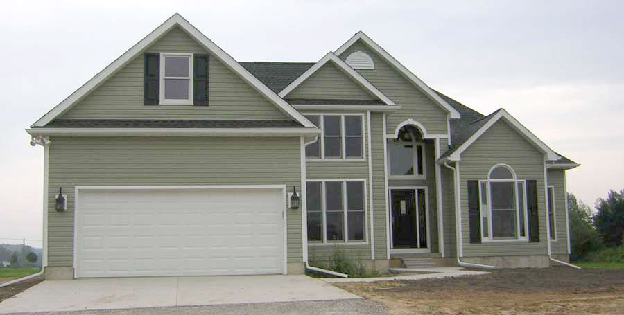 Covenant Construction Group - New Home Construction Front View - Saline, MI