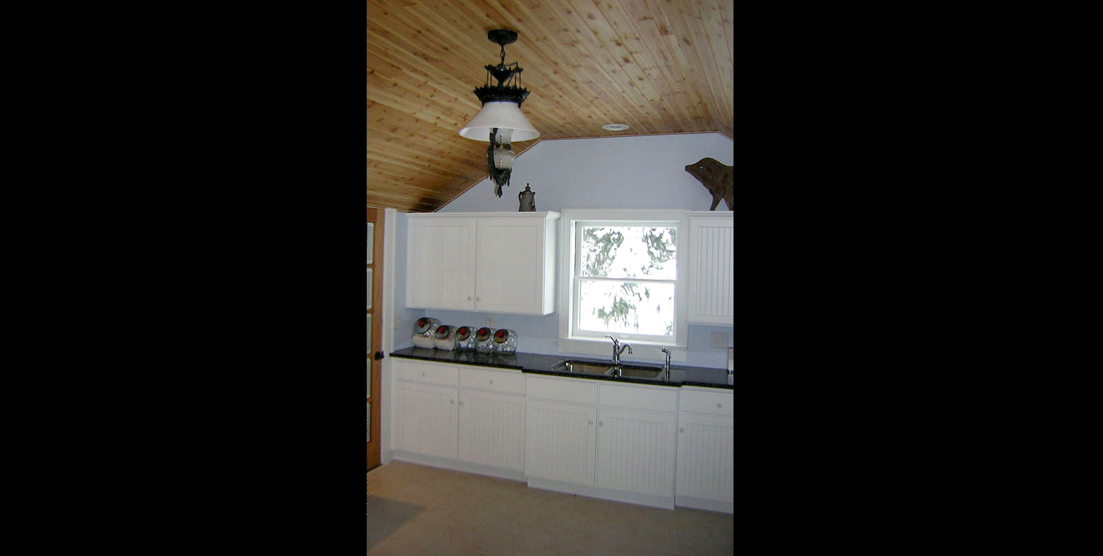 Covenant Construction Group - Cottage Kitchen Remodel, Finished, Ceiling and Light Fixture - Dexter, MI