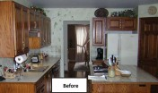 Covenant Construction Group - Complete Home Remodel, Before, Kitchen - Ann Arbor, MI