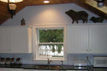 Covenant Construction Group - Cottage Kitchen Remodel, Finished, Counter and Sink - Dexter, MI