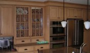 Covenant Construction Group - Condo Remodel, After, Kitchen Cabinet and Counter - Ann Arbor, MI