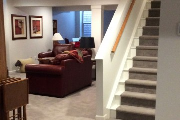 Covenant Construction Group - Basement Finishing, Den, Stairway - Ann Arbor, MI