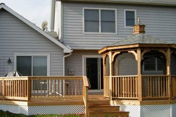 Covenant Construction Group - Wood Gazebo and Deck - Saline, MI